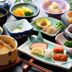 Отель Yamabiko Ryokan Минамиогуни питание