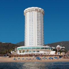 Отель Calinda Beach Acapulco пляж
