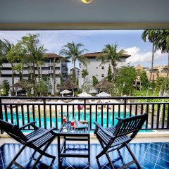 Отель Krabi La Playa Resort балкон