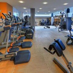 Отель Hilton Cologne фитнесс-зал