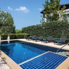 Отель 3 Bedroom Seaview Villa Esprit Таиланд, Самуи - отзывы, цены и фото номеров - забронировать отель 3 Bedroom Seaview Villa Esprit онлайн бассейн фото 2