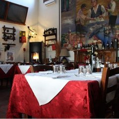 Отель Ristorante Alloggio Ostello Amolara Адрия гостиничный бар