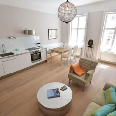 Апартаменты Vienna Residence Lucious Business Apartment for 2 Near the Medical University Вена комната для гостей фото 2