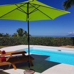 Отель Villa Riviera - Tahiti Французская Полинезия, Пунаауиа - отзывы, цены и фото номеров - забронировать отель Villa Riviera - Tahiti онлайн бассейн фото 2