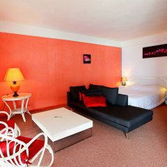 Отель Residence Coeur De Cannes Beach Франция, Канны - отзывы, цены и фото номеров - забронировать отель Residence Coeur De Cannes Beach онлайн комната для гостей фото 4