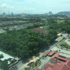 Отель Sunway Hotel Seberang Jaya Малайзия, Себеранг-Джайя - отзывы, цены и фото номеров - забронировать отель Sunway Hotel Seberang Jaya онлайн балкон