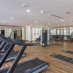 Отель Wyndham Dubai Marina Дубай фитнесс-зал фото 3