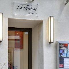 Отель Le Mistral Франция, Канны - отзывы, цены и фото номеров - забронировать отель Le Mistral онлайн интерьер отеля фото 3