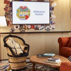 Отель Mama Shelter Prague Чехия, Прага - 10 отзывов об отеле, цены и фото номеров - забронировать отель Mama Shelter Prague онлайн интерьер отеля фото 3