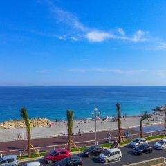 Отель Villa M.Thérèse Promenade Anglais Франция, Ницца - отзывы, цены и фото номеров - забронировать отель Villa M.Thérèse Promenade Anglais онлайн пляж фото 2