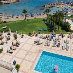Отель Domniki Hotel Apts Кипр, Протарас - отзывы, цены и фото номеров - забронировать отель Domniki Hotel Apts онлайн бассейн фото 2