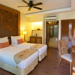 Отель Crimson Resort and Spa Mactan Филиппины, Лапу-Лапу - 1 отзыв об отеле, цены и фото номеров - забронировать отель Crimson Resort and Spa Mactan онлайн комната для гостей фото 4