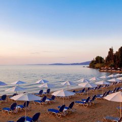 Отель Aeolos Beach Resort All Inclusive Греция, Корфу - отзывы, цены и фото номеров - забронировать отель Aeolos Beach Resort All Inclusive онлайн пляж