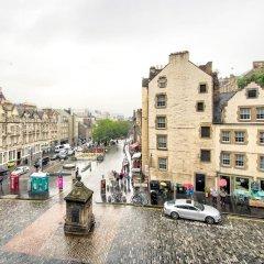 Отель GuestReady Apartment in Historic Grassmarket Великобритания, Эдинбург - отзывы, цены и фото номеров - забронировать отель GuestReady Apartment in Historic Grassmarket онлайн балкон