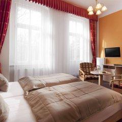 Отель Metropol Чехия, Франтишкови-Лазне - отзывы, цены и фото номеров - забронировать отель Metropol онлайн комната для гостей