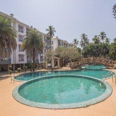 Отель OYO 12030 Home Cosy 2BHK Colva Гоа бассейн