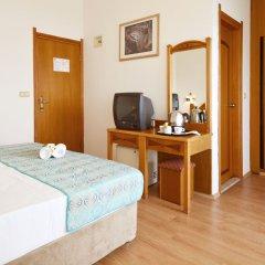 Side Kleopatra Beach Hotel Турция, Сиде - 1 отзыв об отеле, цены и фото номеров - забронировать отель Side Kleopatra Beach Hotel онлайн удобства в номере фото 2