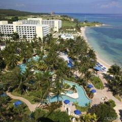 Отель Hilton Rose Hall Resort and Spa Ямайка, Монтего-Бей - отзывы, цены и фото номеров - забронировать отель Hilton Rose Hall Resort and Spa онлайн пляж