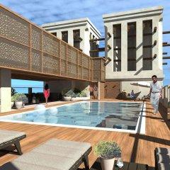 Отель Hilton Garden Inn Dubai Al Jadaf Culture Village бассейн фото 3