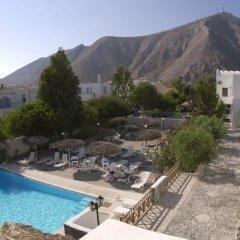 Отель Drossos Греция, Остров Санторини - отзывы, цены и фото номеров - забронировать отель Drossos онлайн балкон