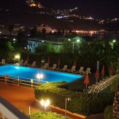 Отель Residence Villa Giardini Джардини Наксос бассейн
