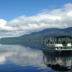 Отель Lake Quinault Lodge Куинолт приотельная территория
