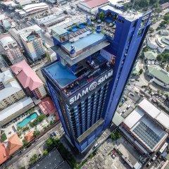Siam@Siam Design Hotel Pattaya Паттайя спортивное сооружение