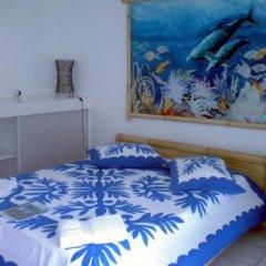 Отель Pension De La Plage сейф в номере