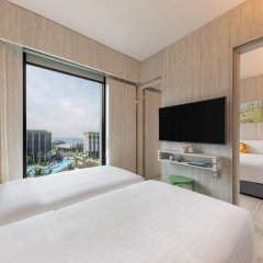 Village Hotel at Sentosa by Far East Hospitality комната для гостей