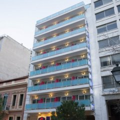 Отель Pythagorion Hotel Греция, Афины - 1 отзыв об отеле, цены и фото номеров - забронировать отель Pythagorion Hotel онлайн вид на фасад
