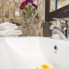 Отель Oia Sunset Villas Греция, Остров Санторини - отзывы, цены и фото номеров - забронировать отель Oia Sunset Villas онлайн ванная
