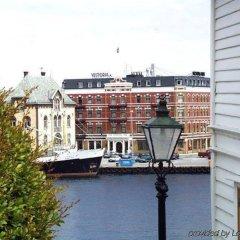 Отель Victoria Hotel Норвегия, Ставангер - отзывы, цены и фото номеров - забронировать отель Victoria Hotel онлайн балкон
