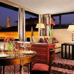 Отель Helvetia & Bristol Firenze Starhotels Collezione Флоренция питание