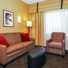 Отель Cambria Hotel Akron - Canton Airport США, Юнионтаун - отзывы, цены и фото номеров - забронировать отель Cambria Hotel Akron - Canton Airport онлайн комната для гостей фото 5
