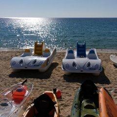 Отель Mercure Rimini Lungomare Римини пляж