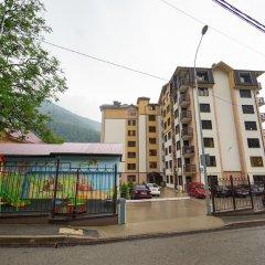 Апартаменты More Apartments na GES 5 (2) Красная Поляна вид на фасад