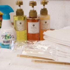 Отель Heiwadai Hotel Tenjin Япония, Фукуока - отзывы, цены и фото номеров - забронировать отель Heiwadai Hotel Tenjin онлайн ванная фото 2