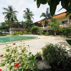 Отель Green Garden Resort Таиланд, Ланта - отзывы, цены и фото номеров - забронировать отель Green Garden Resort онлайн бассейн фото 3