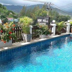 Отель MM Hill Hotel Таиланд, Самуи - отзывы, цены и фото номеров - забронировать отель MM Hill Hotel онлайн бассейн