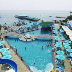 Granada Luxury Beach Турция, Авсаллар - отзывы, цены и фото номеров - забронировать отель Granada Luxury Beach - All Inclusive онлайн бассейн