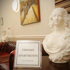 Отель Embassy Apartments Великобритания, Глазго - отзывы, цены и фото номеров - забронировать отель Embassy Apartments онлайн интерьер отеля