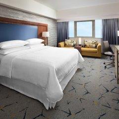 Отель Sheraton Gateway Los Angeles США, Лос-Анджелес - отзывы, цены и фото номеров - забронировать отель Sheraton Gateway Los Angeles онлайн комната для гостей фото 3
