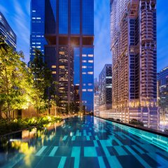 Отель Oakwood Premier OUE Singapore с домашними животными