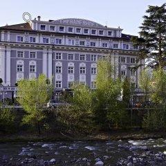 Classic Hotel Meranerhof Меран приотельная территория
