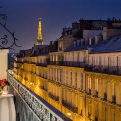 Отель Hôtel Splendide Royal Paris Франция, Париж - отзывы, цены и фото номеров - забронировать отель Hôtel Splendide Royal Paris онлайн балкон