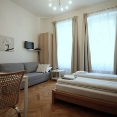 Отель City Castle Aparthotel Прага комната для гостей