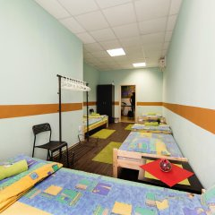 Мини-Отель Компас Кровать в общем номере с двухъярусной кроватью фото 3