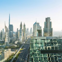 Отель Sheraton Grand Hotel, Dubai ОАЭ, Дубай - 1 отзыв об отеле, цены и фото номеров - забронировать отель Sheraton Grand Hotel, Dubai онлайн балкон