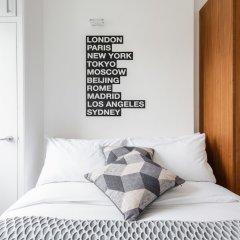 Отель The Notting Hill Nook - Bright & Quiet 2BDR Apartment Великобритания, Лондон - отзывы, цены и фото номеров - забронировать отель The Notting Hill Nook - Bright & Quiet 2BDR Apartment онлайн комната для гостей фото 5