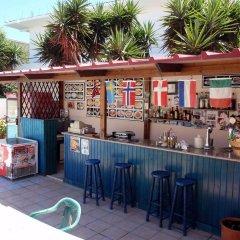 Europa Hotel Rooms & Studios Родос гостиничный бар